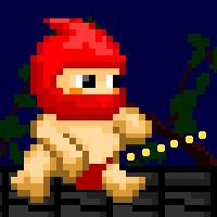 おしっこで戦うアクションゲーム|おしっこ忍者