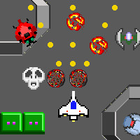 レトロ風本格シューティングゲーム|連射ソルジャー